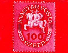 UNGHERIA - Nuovo - 1946 - Postino A Cavallo - Postrider - 100