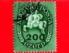 UNGHERIA - Usato - 1946 - Postino A Cavallo - Postrider - 200