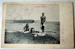 CPA-KP-PC- Erytree - COLONIA ITALIANA --  LAVANDAI ABISSINI - Erythrée