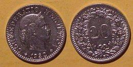 Schweiz, 20 Rappen 1932 - Suisse