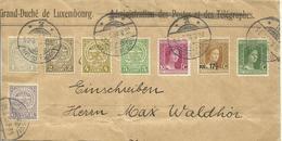 1916 Colorful Franking On Part Of Registered Letter