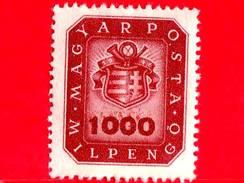 UNGHERIA - Nuovo - 1946 - Stemma E Corno Postale - Arms And Posthorn - 1.000.000.000 P