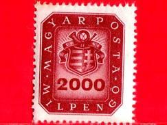 UNGHERIA - Nuovo - 1946 - Stemma E Corno Postale - Arms And Posthorn - 2.000.000.000 P
