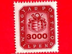 UNGHERIA - Nuovo - 1946 - Stemma E Corno Postale - Arms And Posthorn - 3.000.000.000 P