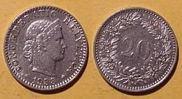 Schweiz, 20 Rappen 1938 - Suisse