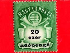 UNGHERIA - Nuovo - 1946 - Stemma E Corno Postale - Arms And Posthorn - 20.000 Adopengo