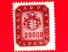 UNGHERIA - Nuovo - 1946 - Stemma E Corno Postale - Arms And Posthorn - 20.000.000.000 P