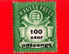 UNGHERIA - Nuovo - 1946 - Stemma E Corno Postale - Arms And Posthorn - 100.000 Adopengo