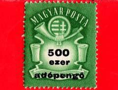 UNGHERIA - Nuovo - 1946 - Stemma E Corno Postale - Arms And Posthorn - 500.000 Adopengo