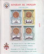Paraguay - Pope S.S. Juan XXIII - S.S. Paulo VI - Paraguay