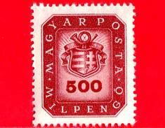 UNGHERIA - Nuovo - 1946 - Stemma E Corno Postale - Arms And Posthorn - 500.000.000 P 1