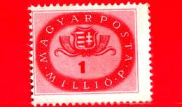 UNGHERIA - Nuovo - 1946 - Stemmi Araldici - Arms Of Hungary - 1.000.000 P