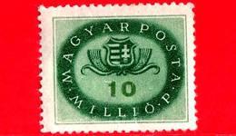 UNGHERIA - Nuovo - 1946 - Stemmi Araldici - Arms Of Hungary - 10.000.000 P
