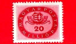 UNGHERIA - Nuovo - 1946 - Stemmi Araldici - Arms Of Hungary - 20.000.000 P