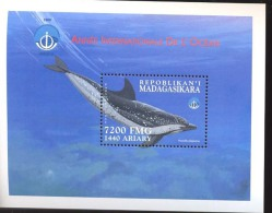 MADAGASKAR    1425  MINT NEVER HINGED SOUVENIR SHEET OF FISH-MARINE LIFE  #   508-2  ( - Fishes