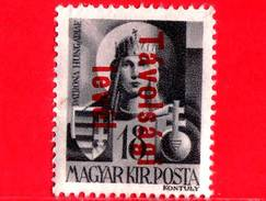 UNGHERIA - Nuovo - 1946 - Vergine Maria, Patrona - Sovrastampato 'Tavolsagi Levél' - 18