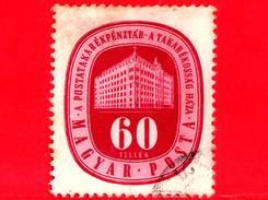 UNGHERIA - Usato - 1947 - Giornata Mondiale Del Risparmio - Banca - 60
