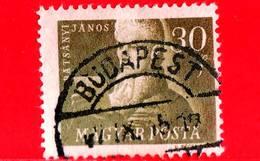 UNGHERIA - Usato - 1947 - Janos Batsanyi (1763-1845), Poeta - Combattente Per La Libertà - 30