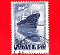 UNGHERIA - Usato - 1950 - Tecnologia Moderna - Nave Merci 'Szeged' - Posta Aerea - 1.60