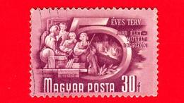 UNGHERIA - Usato - 1950 - Piano Quinquennale - Formazione Dei Lavoratori - 30