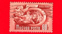 UNGHERIA - Usato - 1950 - Piano Quinquennale - Cooperazione In Agricoltura - 60
