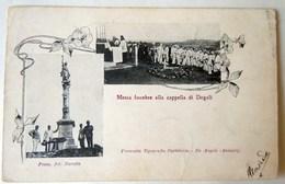 CPA-KP-PC- Erytree - COLONIA ITALIANA -- MESSA FUNEBRE ALLA CAPPELLA DI DOGALI - Erythrée
