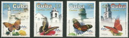 Cuba 3824/3827 ** MNH. 1999 Mariposas - Kuba