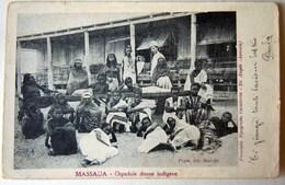CPA-KP-PC- Erytree - COLONIA ITALIANA --  MASSAU OSPEDALE DONNE INDIGENE NUD - Erythrée
