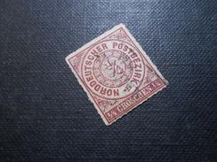 Mi 1b - 1/4Gr - Altdeutschland -  Norddeutscher Bund (nördlichen Postbezirk)  - 1868 - Mi 18,00