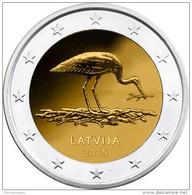 Latvia 2 Euro Cc   2015  Unc - Lettonie