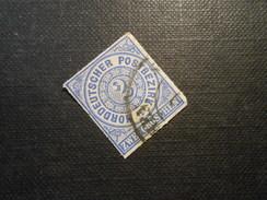 Mi 5 - 2Gr - Altdeutschland -  Norddeutscher Bund (nördlichen Postbezirk)  - 1868 - Mi 5,00