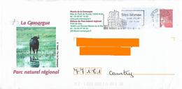 PAP Luquet Illustré La Camargue PNR Animal Taureau Flamme Saintes Maries De La Mer