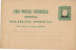 LBR38 - ACORES EP CP 30 REIS NEUVE - Postal Stationery