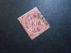 Mi 9 - 3Kr - Altdeutschland -  Norddeutscher Bund (nördlichen Postbezirk)  - 1868 - Mi 4,00
