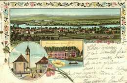 ARGOVIE, Carte Postale, Gruss Aus Döttingen., 1905