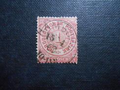 Mi 16 - 1Gr - Altdeutschland -  Norddeutscher Bund (nördlichen Postbezirk)  - 1869 - Mi 2,00