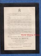 Document De 1902 - Château De ROSNAY Par JONCHERY ( Marne ) - Charles Marie René Du HAMEL , Vicomte De BREUIL - Officier - Army & War