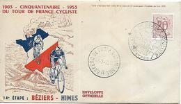 BELGIQUE  LIEGE Tour De France Cycliste 1953 3° étape  5/07/53