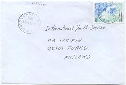 1998 REPACI  L. 900 ISOLATO 21.4.98 BUSTA X FINLANDIA RARA DESTINAZIONE E OTTIMA QUALITÀ (7099a) - 6. 1946-.. Repubblica