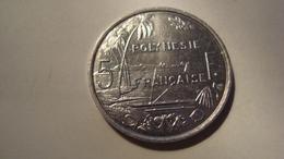 MONNAIE POLYNESIE FRANCAISE 5 FRANCS 2001 - Polynésie Française