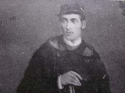 CPA NUITS-SAINT-GEORGES MILITAIRE Soldat En Tenue D'Apparat Fusil-Carte Postale Thème Militaria Uniforme-Guerre 1870 - Altre Guerre