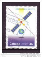 ##29, Canada, #1834b, Millénaire, Bell Téléphone, Télécom, Terre, Informatique, Informatic, Satellite, Earth, Millenium