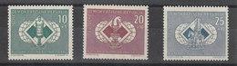 Germania Est   -   1960.  Olimpiade Degli Scacchi.  Chess Olympiad.  Complete Set.   MNH