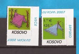 2007 KOSOVO EUROPA CEPT SCOUTS PFADFINDER SERBIA SRBIJA JUGOSLAVIJA  MNH