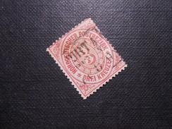 Mi 21 - 3Kr - Altdeutschland -  Norddeutscher Bund (nördlichen Postbezirk)  - 1869 - Mi 5,00