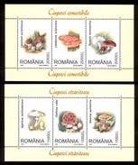 Romania 2003 Mushrooms 2s/s** MNH