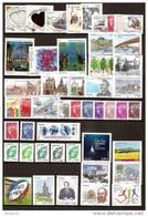 FRANCE - Année Complète 2011 - NEUF LUXE ** 103 Timbres - AVEC Les 4 Blocs En Dentelle-rares(tirage=400 000 Exemplaires)