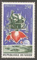 Niger 1971 Mi# 281 ** MNH - Apollo 14 Mission / Space - Africa