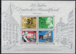 PIA - GERMANIA - 1973 : 50 Anni Della Radiodiffusione Tedesca  - (Yv  Bf 4) - [5] Berlino