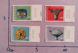 SUISSE 1974 PRO PATRIA ARCHEOLOGIE NEUF SWITZERLAND MNH